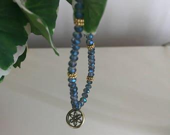 Blue Sephine Bracelet
