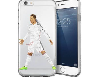 Cristiano Ronaldo CR7  - Football iphone cases - Transparent Case - Clear Case - Transparent iPhone 7 - Clear iPhone 7 Plus - Samsung cases