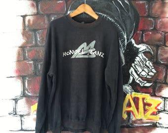 Mcnoel Jeanz Sweatshirt Oversized