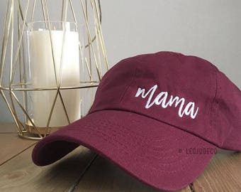 Mama hat - embroidered