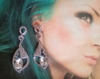bride earrings Angel's Tears