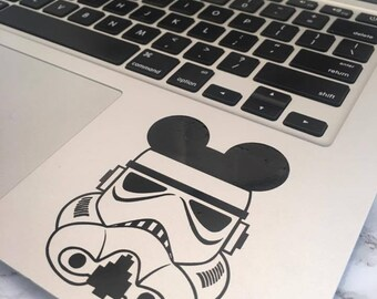 Disney Storm Trooper Mouse Ears Decal
