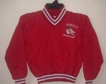 SALE 15% VINTAGE GORILLA Grapplers size s youth