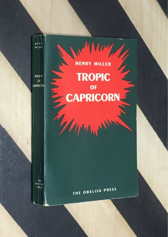 Tropic of Capricorn by Henry Miller (1954) softcover book