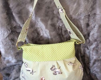 Handmade Dog Print Bag