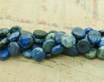 Faceted lapiz lazuli lot of 5