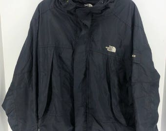 Vintage THE NORTH FACE Gore-Tex Summit Series Jacket Mens Large North Face Black Jacket Hoodie North Face Jacket Bomber Size L #A891
