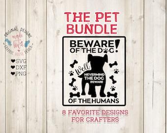 Pet Bundle SVG, Pet SVG Files, Pet Cut Files, Life is better with a dog svg, Rescue is my favorite Breed svg, Cat svg file, Dog svg file