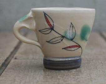 Cream Porcelain Mug