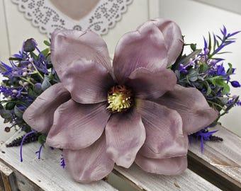Purple flower crown, Large Flower crown, Purple wedding, flower crown wedding, boho flower crown, flower headband, Lacrown, Free shipping,