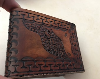 Made to hand/leather wallet wallet