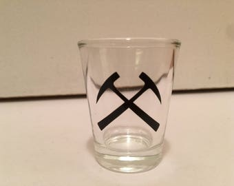 Geology Shot Glass