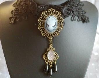 """Gothic necklace """"Duchess"""""""