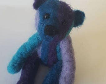 Cute needle felted bear