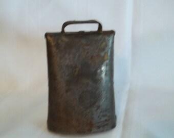Vintage Primitive Metal Cow Bell