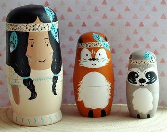 Custom order - Matryoshka - Dolls-Russian wood toys
