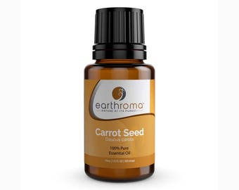 Carrot Seed Essential Oil 5 mL, 15 mL, 30 mL | 100% Pure Therapeutic Grade