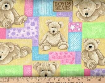Flannel, Boyd's bear multi pastel colors