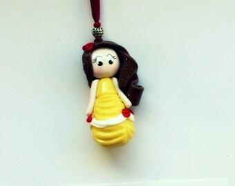 Beautiful Princess doll necklace