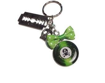 Jewelry bag / girly Rock keychain
