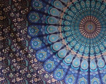 Mandala Indian Tapestry