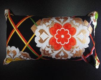 Cushion of Obi (Kimono) Japanese Silk  0000090