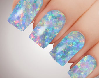 Opal Dreams - ULTIMATE COLLECTION - Full Nail Decal Water Transfer Tattoo #5092