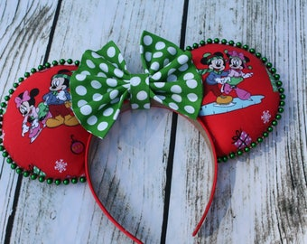 Disney Ears Christmas with Mickey