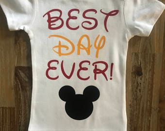 Beat Day Ever, Mickey Mouse Shirt, Disney Trip Shirt, Disney World, Disneyland, Mickey Birthday Shirt, Vacation Shirt, Bodysuit, Mickey Ears