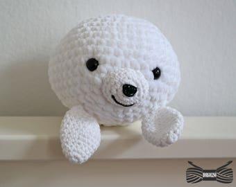Crochet Supersoft Baby Seal Amigurumi