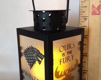 MINI 4.5 inch Lantern - Game of Thrones influenced