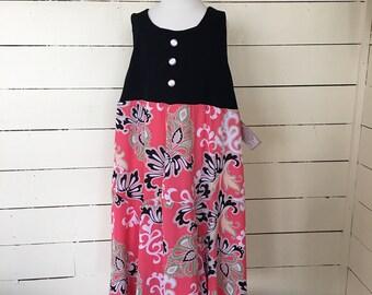 Size 14/16 girls upcycled dress
