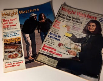 Weight Watchers vintage magazines ...1976 and 1977