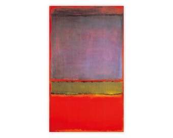 Mark Rothko No. 6 (Violet, Green, & Red), 1951