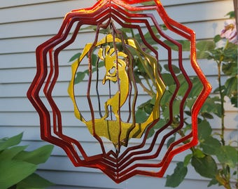 Kokopelli Wind Spinner