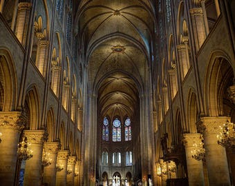 Notre Dame Cathedral Photo Print