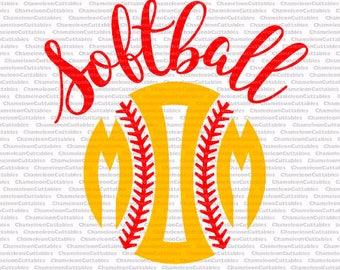 softball mom, svg, cut, file, sports, sport, silhouette, ball, sign, decal, vector, cricut, cameo, clipart, files, file