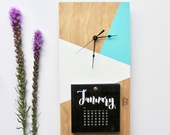 Geometric Clock/Calendar