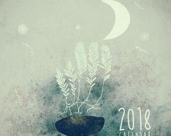 Moon calendar | Etsy