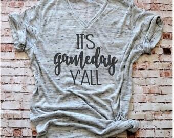 GAME DAY Shirt, Football Shirt, Baseball Mom Shirt, Football Mom Shirt, College Football, Ladies Game Day football, Southern Baseball shirt