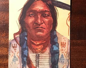 Chief Sitting Bull postcard 5702. #302