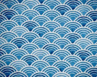 Indigo blue prints