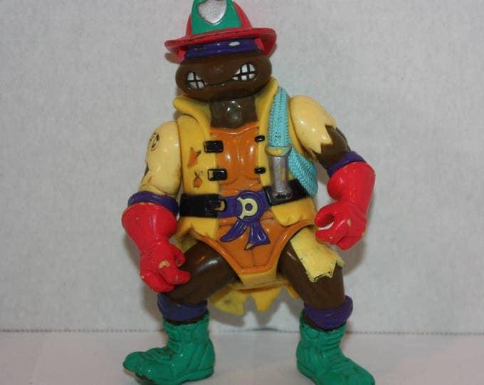 Teenage Mutant Ninja Turtles TMNT Hose 'em Down Don Action Figure 1991 Playmate