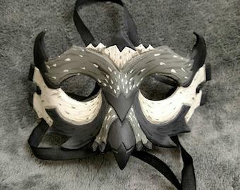 Grey Owl Mask