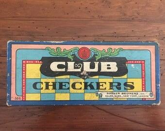 Vintage Checkers