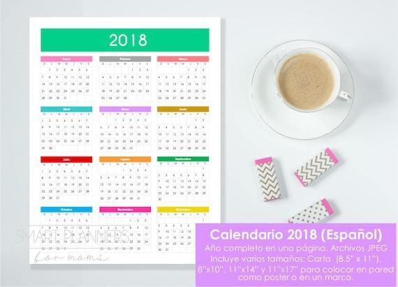 Calendario 2018 Republica Dominicana Para Imprimir
