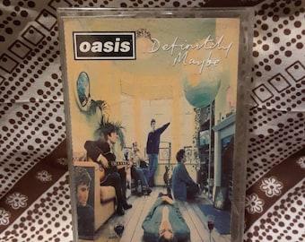 Oasis Definitely Maybe Cassette Tape