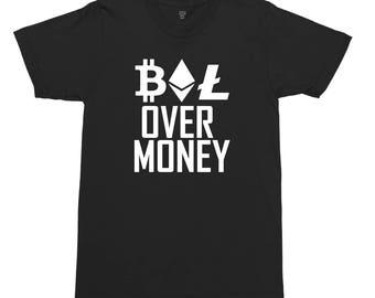Alt Coin Over Money T-shirt