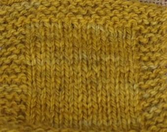 MUSTARD sport weight 2 ply wool USA farm yarn