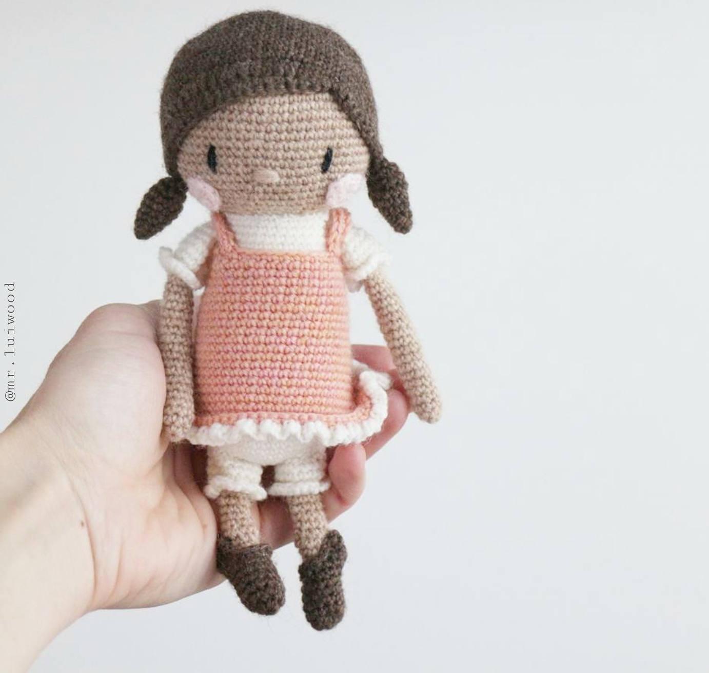 Amigurumi Doll Pdf : Amigurumi pattern miss luluh mr luiwood doll pdf